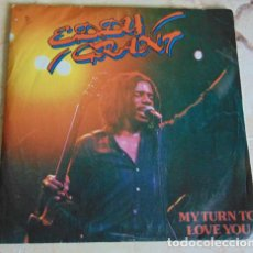 Discos de vinilo: EDDY GRANT – MY TURN TO LOVE YOU / FEEL THE RHYTHM (OF YOU AND I) - SINGLE. Lote 156212014