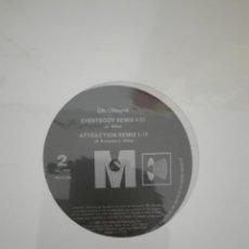 Discos de vinilo: ON USOUND ERYBODY REMIX ATTRACTION REMIX. Lote 156212590