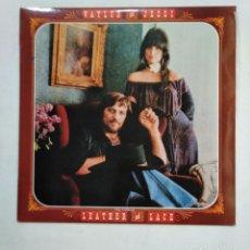 Discos de vinilo: WAYLON AND JESSI. LEATHER AND LACE. LP. TDKLP. Lote 156219614