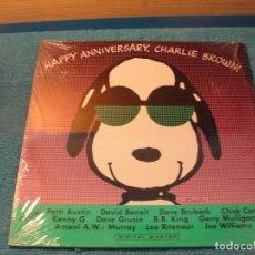 Discos de vinilo: LOTE LP HAPPY ANNIVERSARY CHARLIE BROWN!!! SELLO GRP 1989 ED USA. Lote 156226050
