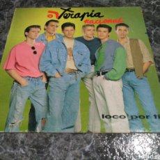 Discos de vinilo: TERAPIA NACIONAL - LOCO POR TÍ (LP, ALBUM). Lote 156226928