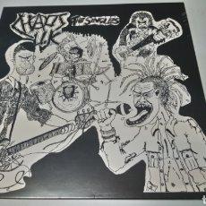 Discos de vinilo: CHAOS UK - TOTAL CHAOS - THE SINGLES. LP VINILO PRECINTADO.. Lote 156230132