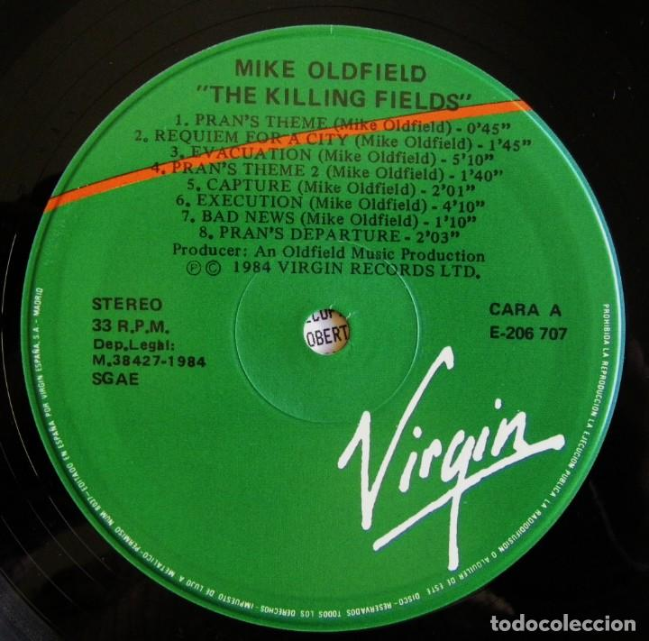 Discos de vinilo: Mike Oldfield ‎– The Killing Fields Original Film Soundtrack, - Foto 4 - 156238730
