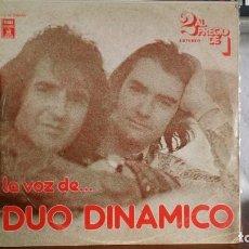 Discos de vinilo: *** DÚO DINÁMICO - LA VOZ DE... DÚO DINÁMICO - DOBLE LP - AÑO 1976 - LEER DESCRIPCION. Lote 156250302
