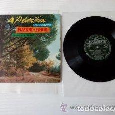 Discos de vinilo: EUZKAL ERRIA ( PADRE DONOSTIA ) / LP 25 CM 10 PULGADAS 33 RPM / COLUMBIA. Lote 156255974