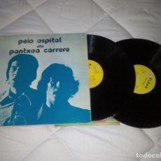 Discos de vinilo: PANTXOA ETA PEIO / LP DOBLE PORTADA DOBLE 33 RPM / ELKAR. Lote 156261182