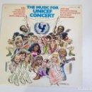 Discos de vinilo: MUSIC FOR UNICEF CONCERT: A GIFT OF SONG (VINILO). Lote 156269690