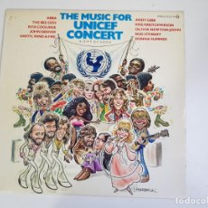 Discos de vinilo: MUSIC FOR UNICEF CONCERT: A GIFT OF SONG (VINILO). Lote 156269690