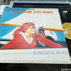 Discos de vinilo: WALDO DE LOS RÍOS LP WONDERFUL WORLD U.K. 1972. Lote 156288924