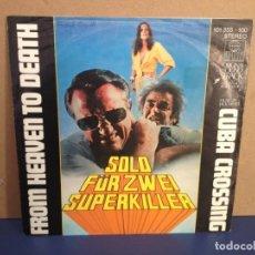 Discos de vinilo: JACK WHITE - FROM HEAVEN TO DEATH B.S.O. SOLO FÜR ZWEI SUPERKILLER / ¡¡OCASIÓN!! SINGLE VINILO . Lote 156305018
