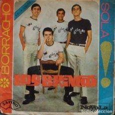 Discos de vinilo: LOS BRINCOS ?– BORRACHO / SOLA (ESPAÑA, 1965). Lote 156343542