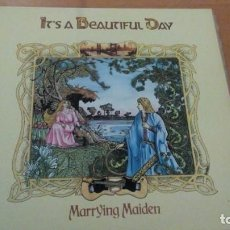 Discos de vinilo: IT'S A BEAUTIFUL DAY MARRYING MAIDEN LP SPAIN. Lote 156358306