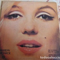 Discos de vinilo: MARILYN MONROE – I'M GONNA FILE MY CLAIM / AFTER YOU GET WHAT YOU WANT - SINGLE. Lote 156388986