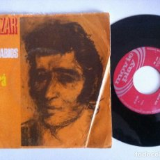 Discos de vinilo: SALAZAR - LOS MONOSABIOS / TODO PASARA - SINGLE 1970 - MOVIEPLAY. Lote 156456810