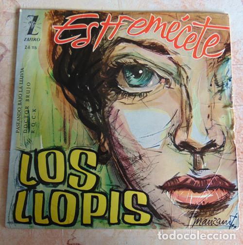 LOS LLOPIS – ESTREMÉCETE + 3 - EP (Música - Discos de Vinilo - EPs - Rock & Roll)