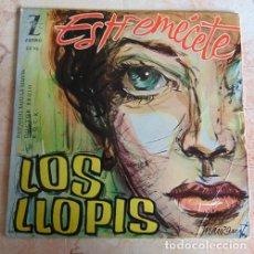 Discos de vinilo: LOS LLOPIS – ESTREMÉCETE + 3 - EP. Lote 156470474