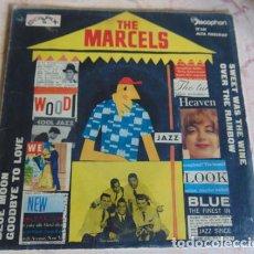 Discos de vinilo: THE MARCELS – BLUE MOON - EP 1961. Lote 156470706