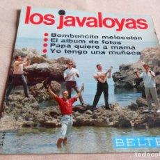 Discos de vinilo: JAVALOYAS, LOS, EP, BOMBONCITO MELOCOTÓN + 3, AÑO 1966. Lote 156471306