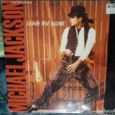 Discos de vinilo: MICHAEL JACKSON LEAVE ME ALONE. Lote 156474350
