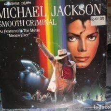 Discos de vinilo: MICHAEL JACKSON SMOUTH CRIMINAL. Lote 156475358