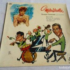 Discos de vinilo: RENATO CAROSONE Y SU CUARTETO, EP, MARUZZELLA + 3, AÑO 1959. Lote 156476770