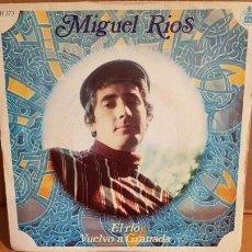 Discos de vinilo: MIGUEL RIOS / EL RÍO / SG-HISPAVOX - 1968 / MBC. ***/***. Lote 156478378