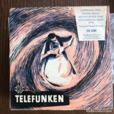 Discos de vinilo: ORQUESTA FRANCK POURCEL - CANDILEJAS + 3 - EP TELEFUNKEN 195? . Lote 156480242