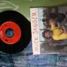 Discos de vinilo: MICK JAGGER LET'S WORK SINGLE. Lote 156480262