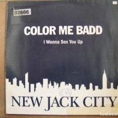 Discos de vinilo: COLOR ME BADD – I WANNA SEX YOU UP - GIANT RECORDS 1991 - MAXI - PLS. Lote 156484186