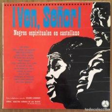 Discos de vinilo: NEGROS ESPIRITUALES EN CASTELLANO LP SELLO PAX EXCELENTE. Lote 156484974