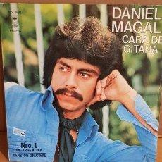 Discos de vinilo: DANIEL MAGAL / CARA DE GITANA / SG-EPIC - 1978 / MBC. ***/***. Lote 156486702