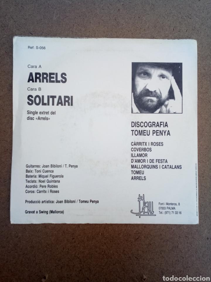 Discos de vinilo: Single Tomeu Penya Arrels Solitari - Foto 2 - 156488480