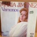Discos de vinilo: MARIA JIMENEZ / VÁMONOS / SG - MOVIE PLAY-1977 / MBC. ***/***. Lote 156496386