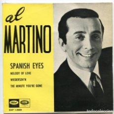 Discos de vinilo: AL MARTINO. SPANICH EYES. MELODY OF LOVE. ETC.. EP. EMI CAPITOL 1966.. Lote 156499338