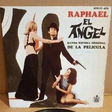 Discos de vinilo: B.S.O !! RAPHAEL / EL ANGEL / EP - HISPAVOX-1969 / MBC. ***/***. Lote 156500138