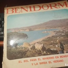 Disques de vinyle: BENIDORM, ZAFIRO, LOS TICO TICO-LOLITA GARRIDO-LOS BRUJOS-ROSALIA-LOS IRUÑA-FINA GALICIA-ALBERTO ETC. Lote 156502798