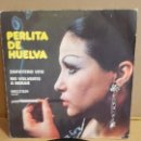 Discos de vinilo: PERLITA DE HUELVA / ZAPATERO VEN / SG - BELTER-1974 / MBC. ***/***. Lote 156503834