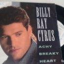 Discos de vinilo: SINGLE (VINILO) DE BILLY RAY CYRUS AÑOS 90. Lote 156505654