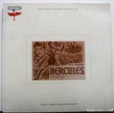 Discos de vinilo: HÉRCULES. BSO DE ENZO MASETTI. NUMERADA. STEVE REVES 1958. Lote 156507174