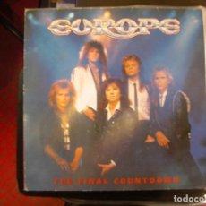 Discos de vinilo: EUROPE- THE FINAL COUNTDOWN. LP.. Lote 156511798