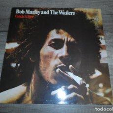 Discos de vinilo: BOB MARLEY & THE WAILERS - CATCH A FIRE (SPAIN 1978). Lote 156516626