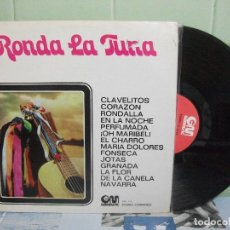 Discos de vinilo: RONDA LA TUNA - FACULTAD FARMACIA MADRID - LP - SIGNED -GM 1971 SPAIN. Lote 156529342