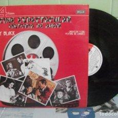 Discos de vinilo: LP - STANLEY BLACK - CINE ESPECTACULAR-HISTORIA DE AMOR (SPAIN, DECCA-4 FASES 1976). Lote 156529662