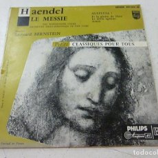Discos de vinilo: AENDEL -LE MESSIE -LEONAR BERNSTEIN - N. Lote 156530410
