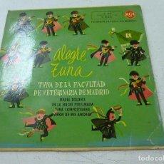 Discos de vinilo: ALEGRE TUNA FACULTAD DE VETERINARIA DE MADRID.-N . Lote 156530574
