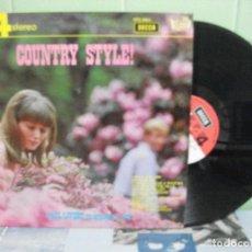 Disques de vinyle: PAUL LIVERT SU ORQUESTA Y CORO COUNTRY STYLE! LP 1969 DECCA EDICION PEPETO. Lote 156531982