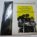 Discos de vinilo: CONSTANTIN KOTLAROW - OJOS NEGROS -EP -N. Lote 156537178