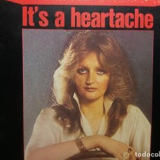 Discos de vinilo: BONNIE TYLER, IT'S A HEARTACHE, RCA . Lote 156537782