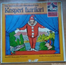Discos de vinilo: DISCO VINILO KASPERL LARIFARI CUENTOS FASS 1465 WY. Lote 156540436
