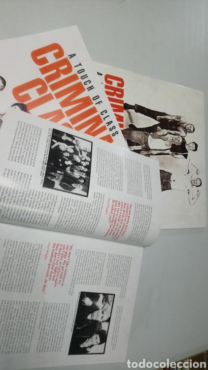 Discos de vinilo: Criminal Class - touch of Class The OI! Collection lp vinilo nuevo incluye revista y póster - Foto 3 - 156540718